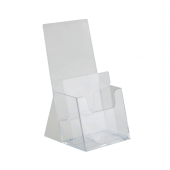 Counterstanding two tier leaflet holder