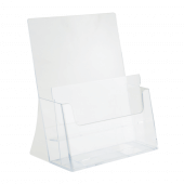 Two tier A4 leaflet holders