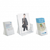 Extra Capacity Leaflet Holder