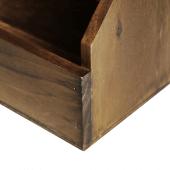 Wooden Condiment Holder