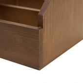 Wooden table tidy for restaurants