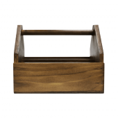 Wooden Condiment Holder aka condiment caddy