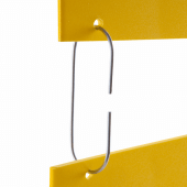 C hooks are designed to connect posters and POS displays