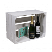 White Heritage Crate for retail display