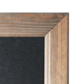 Chalkboard Wall Frame with Dark Wood Frame