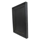 A2 black chalkboard with frame
