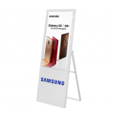 Digital advertising board available with optional branding