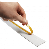 Flat Shelf Data Strips adhesive