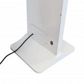 Mains powered slim digital signage screen