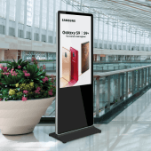 Digital advertising screen to display images, videos or both