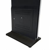 Black Digital Display Totem Base