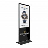 Branded digital display - select branding from dropdown menu