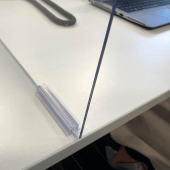 Clear Acrylic Office Desk Divider