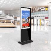 Digital signage totem for dynamic advertising