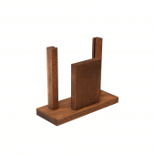 A5 wooden menu holders for restaurants