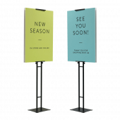 Adjustable Double Sided Poster Display Stand
