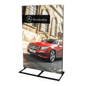 A digital LED poster is ideal for creating stunning visual displays
