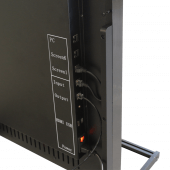 Multiple ports including HDMI, USB and an audio jack