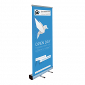 Premium Roller Banner Kit available with or without banner