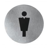 Gents' toilets door sign