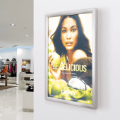 Economy LED Light Box Snap Frame