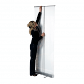 Economy pull up banner kit from UK POS