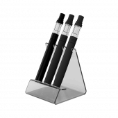 Acrylic vape pen holder with three slots