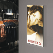 Fabric Tension System Lightbox, printed banner optional