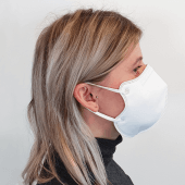 FFP2 Face Mask with elasticated ear bands