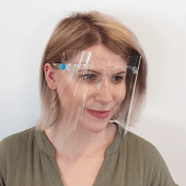 Face Shield with Glasses provide a more comfortable fit