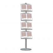 Brochure Stand Shelves