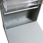 Collapsible Brochure Stand with aluminium frame