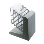 The Collapsible Brochure Stand folds away easily