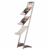 A4 Literature Holder Angled Brochure Stand