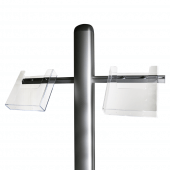 Acrylic Brochure Holder Add-on for Display Units