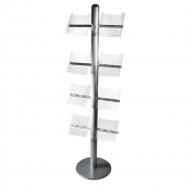 A4 Acrylic Brochure Holder for Display Units - also available in A5