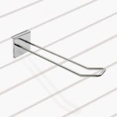 Slatwall display hooks simply slot into slatwall panels for an effortless display