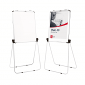Flip Chart Stand with Magnetic Whiteboard