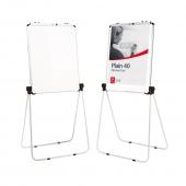 Magnetic Whiteboard Flip Chart Easel