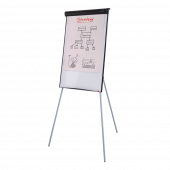 Economy Flipchart Easel and Magnetic Whiteboard Easel