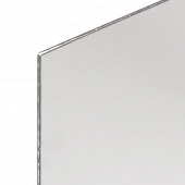 A fire resistant anti glare cover is included to protect your poster