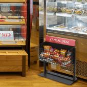 Wire Dump Bin Merchandiser - ideal for snack merchandising