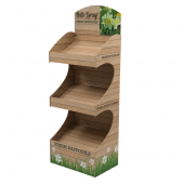 Premium Free Standing Display Unit fully branded