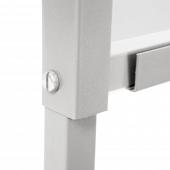 Metal frame hygiene barrier