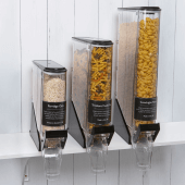 Counter Standing Gravity Food Dispenser with slimline design