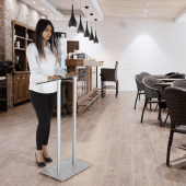 Modern lectern stand for a variety of uses