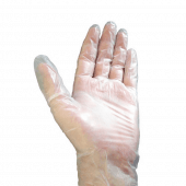 Non latex vinyl disposable gloves x 100