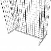 Gridwall Gondola Stand with H shaped base