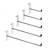 Gridwall single prong hook in a variety of lengths