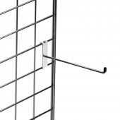 Merchandising hook for gridwall display